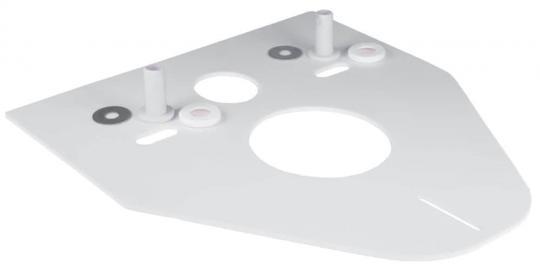 Schalldämmset für Wand-WC 370x420x5 mm