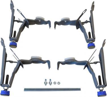 Kaldewei Fußgestell Allround für Stahl-Badewannen bis 75 cm breit