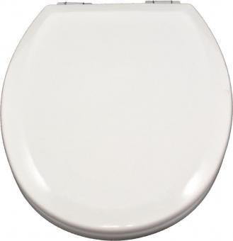Holzkern WC-Deckel Illinois weiß mit Absenkautomatik