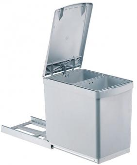 Einbau-Mülleimer 2x7,5 Liter