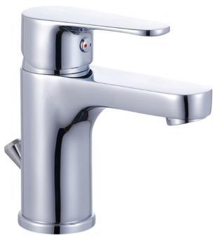 Einhandmischer Waschbeckenarmatur chrom glänzend