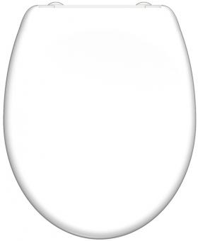 Duroplast WC-Sitz weiß mit Absenkautomatik + Schnellverschluss
