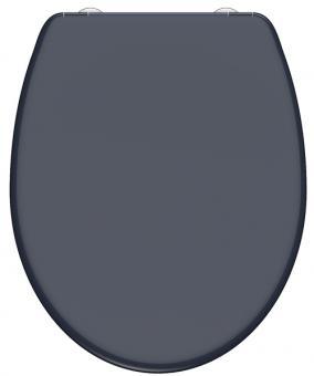 Duroplast WC-Sitz anthrazit mit Absenkautomatik + Schnellverschluss