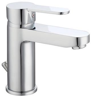 Einhand Waschbeckenarmatur chrom glänzend