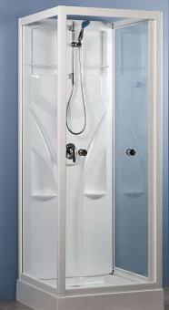 Schulte U-Duschkabine Komplettdusche Juist 2100 mm hoch