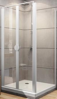 Schulte Duschkabine Sunny Pendeltür inklusive Seitenwand