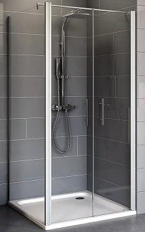 Schulte Duschkabine Alexa Style 2.0 Pendeltür mit Seitenwand
