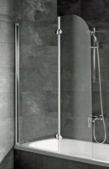 Schulte D3353 Badewannenfaltwand 2-teilig 1400x1120 mm