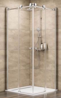 Schulte Duschkabine MasterClass Eckeinstieg mit Gleittüren