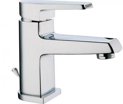 Design Waschtisch Einhandmischer chrom