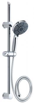 Stangen-Duschset variabel ohne neu Bohren verchromt 70 cm