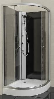 Wellness Runddusche Komplettduschkabine 2150x900x900 mm