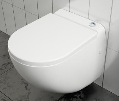 Setma Hebeanlage Watersan 40 Hänge-WC für Vorwandinstallation