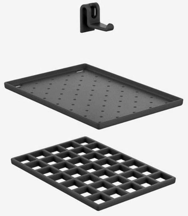 Ablageset für Sanit Multi-Funktionsbecken