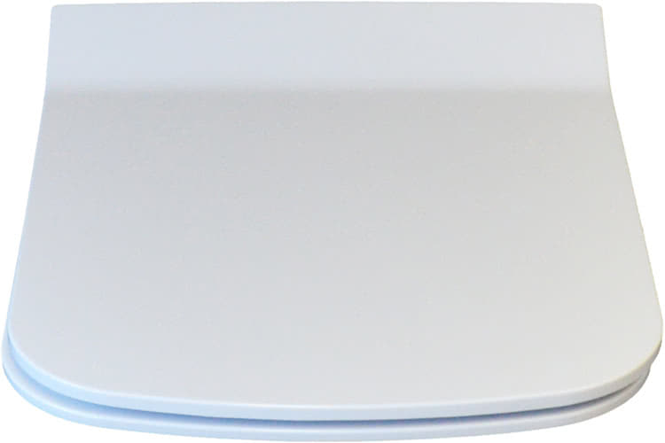 Duroplast WC-Sitz Harmony eckig antibakteriell Absenkautomatik