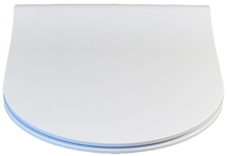 Duroplast WC-Sitz Harmony weiß antibakteriell mit Absenkautomatik
