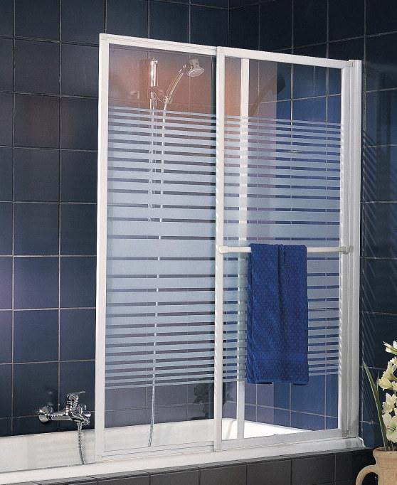 Duschabtrennung badewanne ohne bohren  D1130 Badewannenaufsatz 2-teilig 1400x700-1180 mm