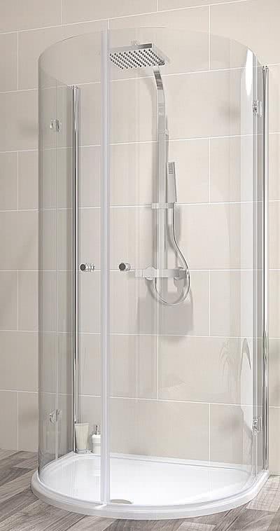 schulte garant halbkreis duschkabine drehfaltt r 2022x1100x900 mm. Black Bedroom Furniture Sets. Home Design Ideas