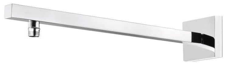 Schulte D96126 Messing Wandarm eckig II 440x60 mm
