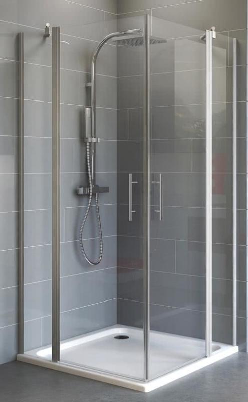 Schulte Duschkabine mit Eckeinstieg