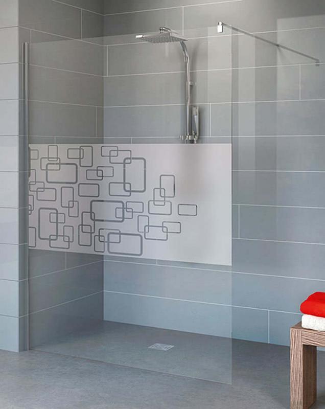 Schulte Alexa Style 2.0 Walk-In Duschwand 1900x1000 mm Echtglas Softcube