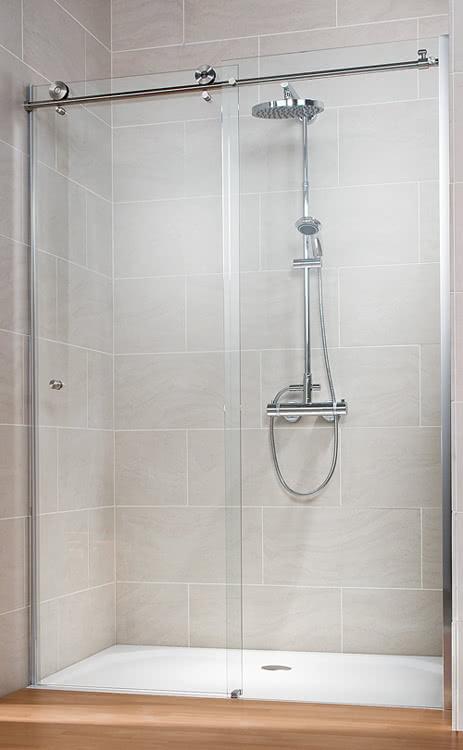 Schulte Duschtür für die Nische MasterClass mit Schiebetür