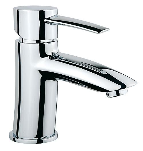 Design Einhand-Waschtischmischer oval chrom