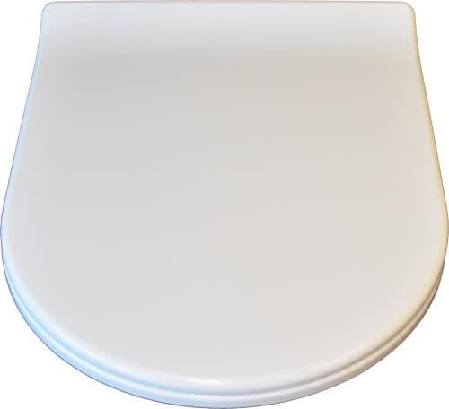 duroplast wc sitz slim d form mit absenkautomatik quick release. Black Bedroom Furniture Sets. Home Design Ideas