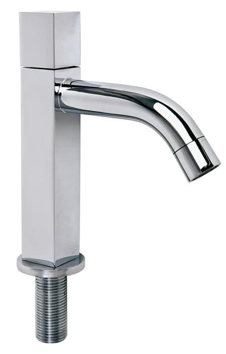 Design Standventil Gäste-WC-Armatur eckig chrom