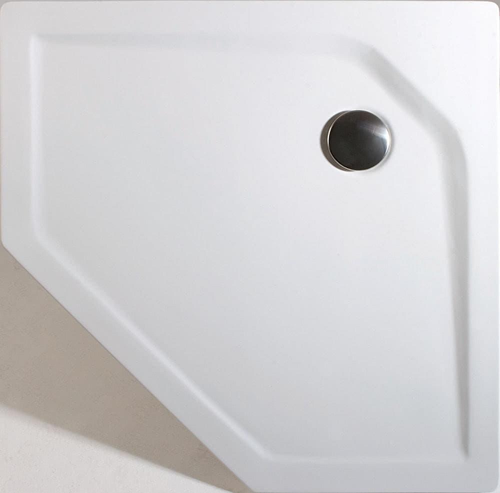 schulte acryl 5 eck duschwanne extra flach. Black Bedroom Furniture Sets. Home Design Ideas