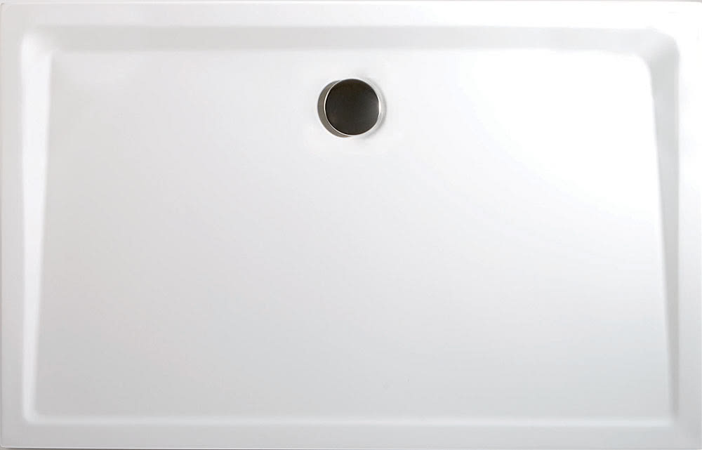 Großartig Acryl Rechteck Duschtasse extra flach NI32