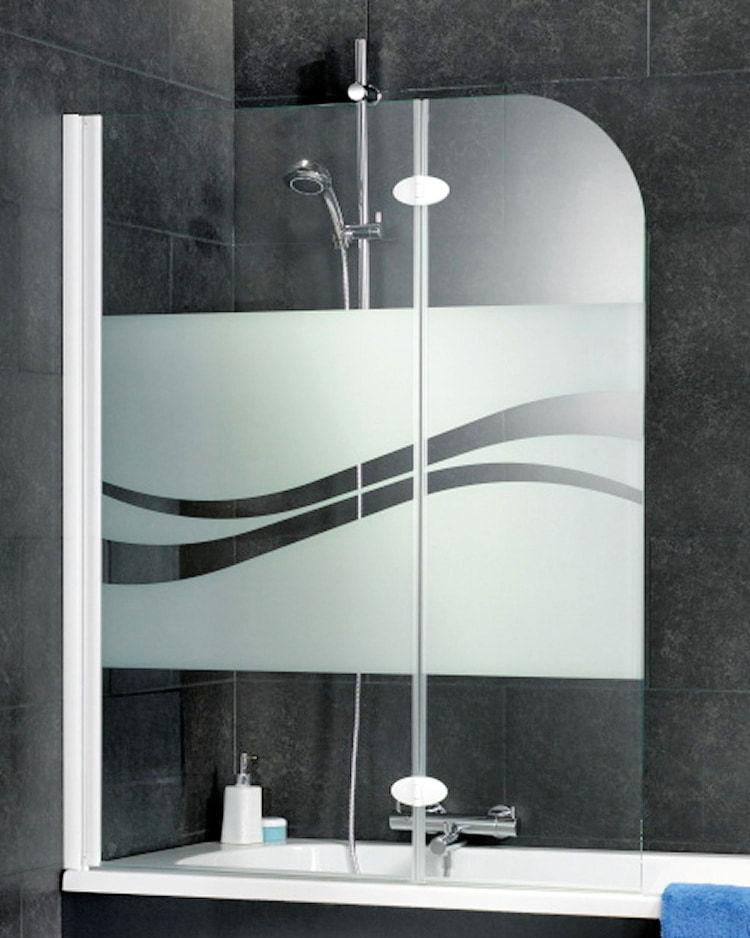 schulte d3353 badewannenfaltwand 2 teilig 1400x1120 mm. Black Bedroom Furniture Sets. Home Design Ideas
