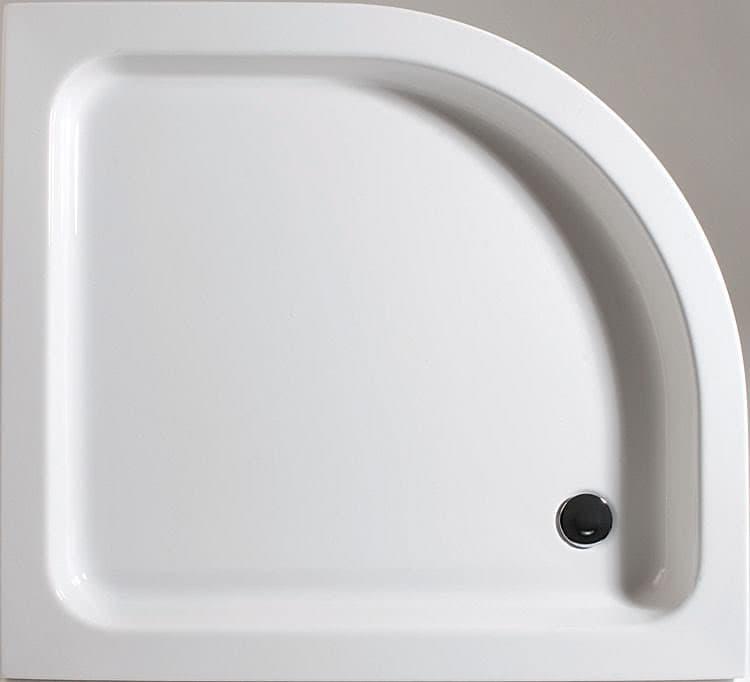 schulte acryl viertelkreis duschwanne flach asymmetrisch. Black Bedroom Furniture Sets. Home Design Ideas