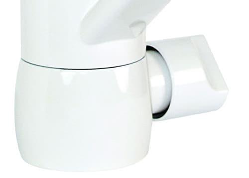 niederdruck k chenarmatur mit ger teanschluss wei. Black Bedroom Furniture Sets. Home Design Ideas