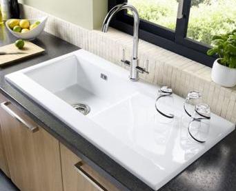 Einbauspülen Keramikspülen Granitspülen bei badwelten24.de kaufen